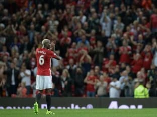 Paul Pogba Quickly at Home on Second Manchester United Debut