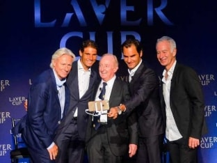 Roger Federer, Rafael Nadal to Play Doubles Together in Laver Cup