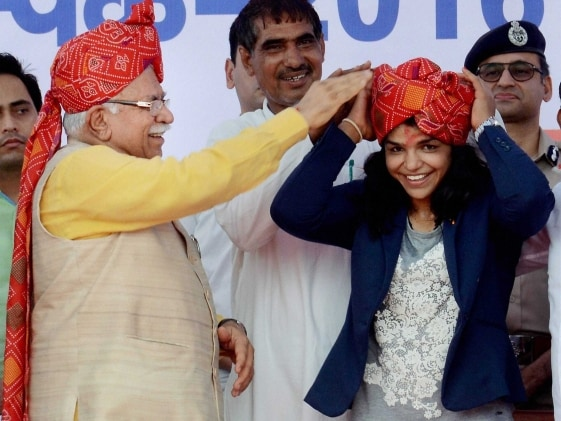 Sakshi Malik Made Haryana's Brand Ambassador For 'Beti Padhao-Beti Bachao' Programme