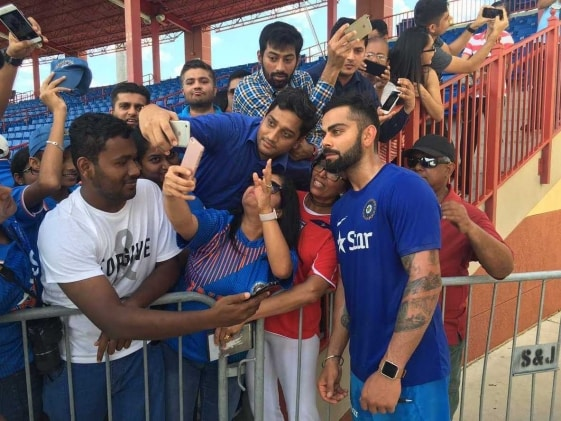 Virat Kohli, MS Dhoni Dazzle USA as India Gear Up For West Indies Challenge