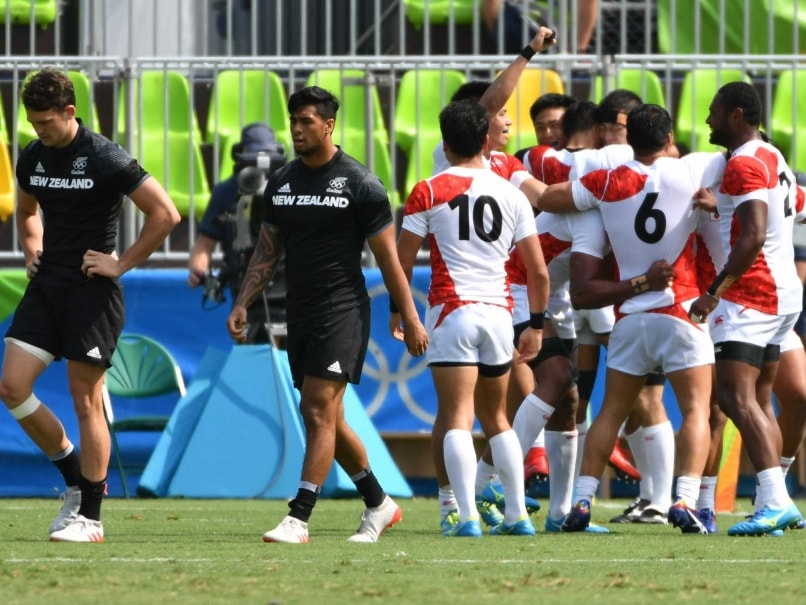 Japan shock New Zealand in rugby sevens at Rio Olympics