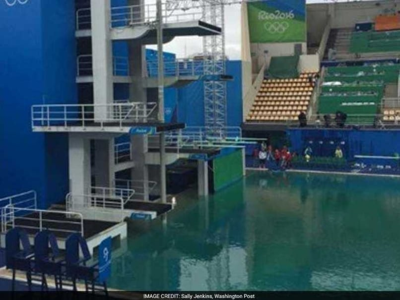Officials Will Drain Green Water in Rio Olympics Diving Pool