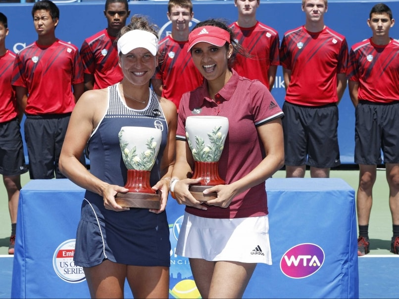 Sania wins Cincinnati title, reaches no. 1