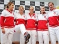 Fed Cup: Martina Hingis Joy as Switzerland Set up Czech Semifinal