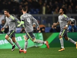 Ronaldo Scores As Real Madrid C.F. Beat Roma In Champions League