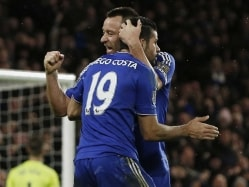 Chelsea F.C. Ride Diego Costa's Equaliser to Hold Manchester United F.C.