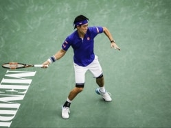 Kei Nishikori Opens Memphis Title Defense With Win