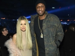 Lamar Odom Out in Public -- at Kanye West Show in New York