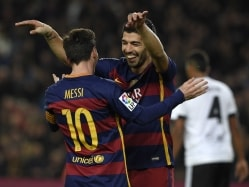 FC Barcelona Run Riot as Suarez, Messi Hat-Tricks Hit Valencia For Seven