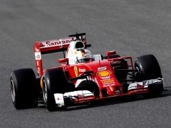 Sebastian Vettel Quickest in Formula One Testing Opener