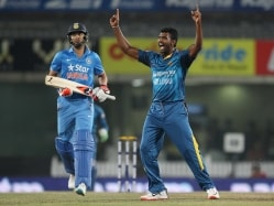Thisara Perera Makes History, Takes Hat-Trick vs India in Ranchi T20