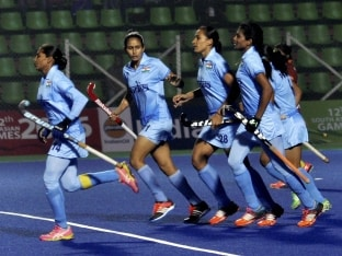India Women's Hockey Team Ends Winless Streak With Win Over Canada in Hawke's Bay Cup