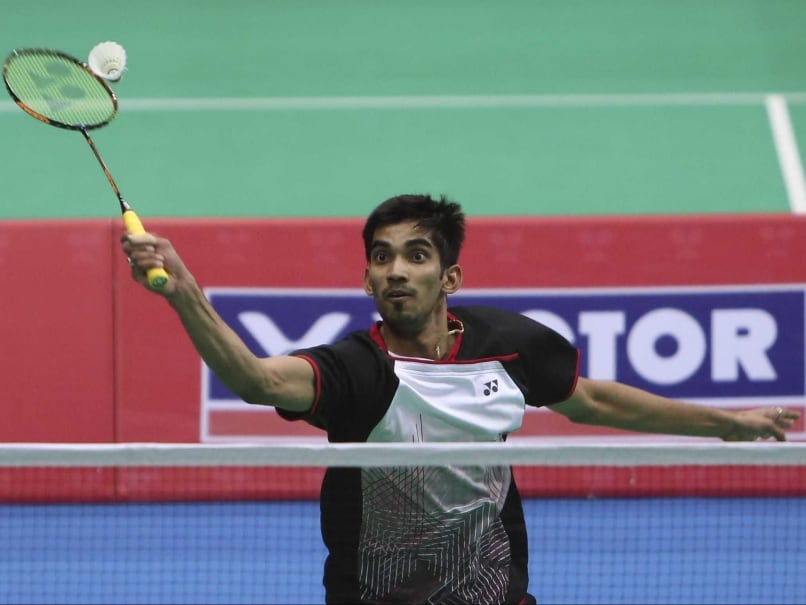 Olympics: Kidambi Srikanth Wants To Win A Medal At Rio 2016