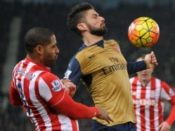 Arsenal F.C. Top Premier League Despite Goalless Draw With Stoke City F.C.