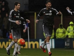 Chelsea F.C. Stars Diego Costa and Oscar in Training Ground Row: Reports
