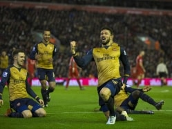 Olivier Giroud Nets Brace as Arsenal F.C. Draw Against Liverpool F.C.