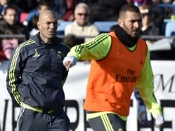Zinedine Zidane Hopeful on Cristiano Ronaldo, Karim Benzema Fitness