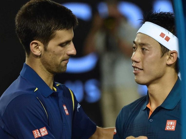 Djokovic y Nishikori - Australia '16 - ndtvimg.com
