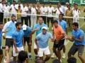 Leander Paes And Co. Treat Fans With 'Afghan Jalebi' After Davis Cup Win