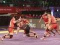 Pro Kabaddi League: U Mumba Edge Bengaluru Bulls 24-23