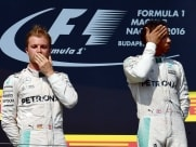 Nico Rosberg Surprised by Lewis Hamilton Podium at Belgian GP