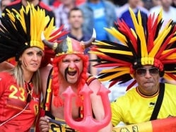 Euro 2016: Belgian Invasion For Last 8 Clash With Wales