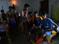 India's Red Light Youngsters Go For Gold at International Football Meet