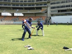 Team India Hit The Nets in Kingston Ahead of 2nd Test vs West Indies