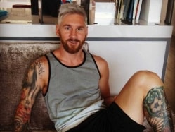 Lionel Messi Drops Blond Bomb Ahead of New Season
