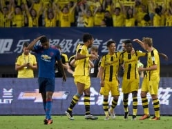 Jose Mourinho's Manchester United Lose to Borussia Dortmund in China