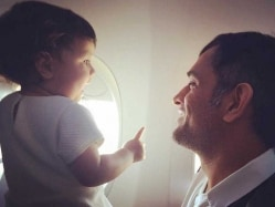 MS Dhoni, Daughter Ziva Have Fun Time On Instagram