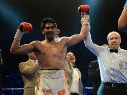 Vijender Singh Breaks Into Top 10 Of WBO Rankings