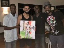 Virat Kohli's Test Double Hundred Blows Away King Viv's Son, Mali