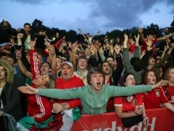 Euro 2016: Welsh Pride Shines Through Rainy Cardiff