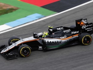 Force India Drivers Finish With Double Points