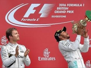 Lewis Hamilton Storms to British Grand Prix Win, Nico Rosberg Demoted