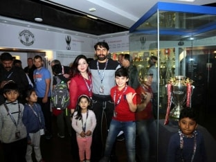 Pakistan Cricket Team's Day Out at Manchester United