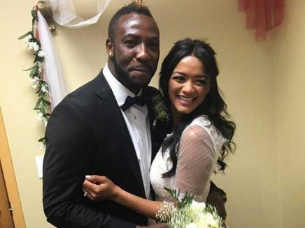 Andre Russell Weds Long-Time Girlfriend Jassym Lora
