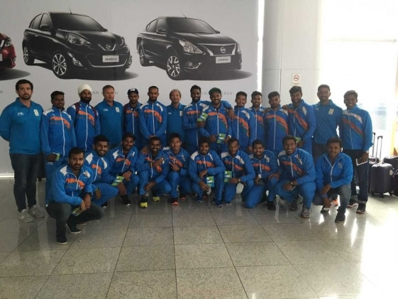 Indian Hockey Teams Arrive in Rio for 2016 Olympic Games