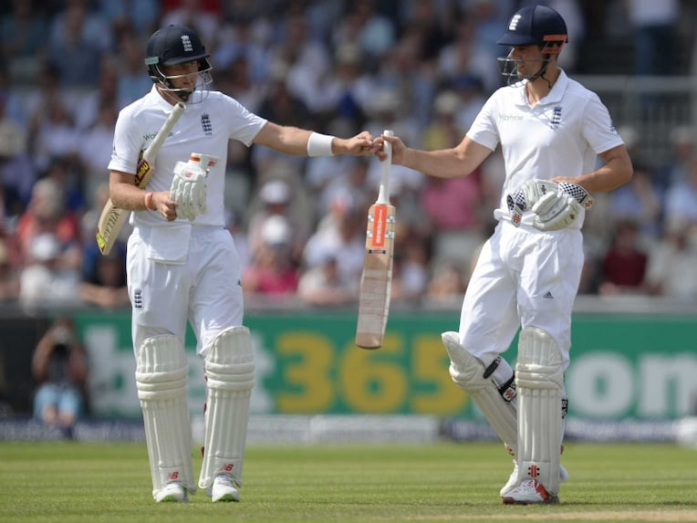 Joe Root Alastair Cook 2607