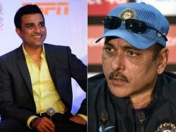 Ravi Shastri Not Used to Rejection: Sanjay Manjrekar