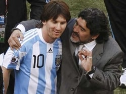 Lionel Messi's 'Retirement' From Argentina Team 'Staged': Diego Maradona