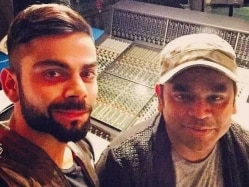 Virat Kohli Dances to AR Rahman's Tunes for Premier Futsal League