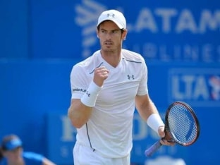 Andy Murray Battles Past Kyle Edmund to Reach Queen's Club Semifinals