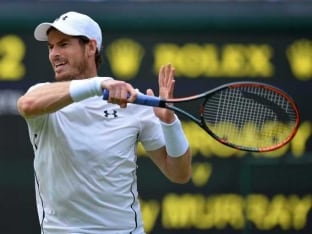 Andy Murray to Take Centre Stage as Wet Wimbledon Plays Catch-Up