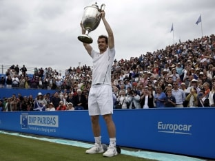 Andy Murray Wins Record Fifth Queen's Title, Warms up in Style for Wimbledon