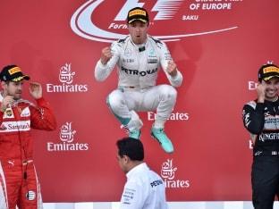 Europe Grand Prix: Dominant Nico Rosberg Secures Fifth Win of Season