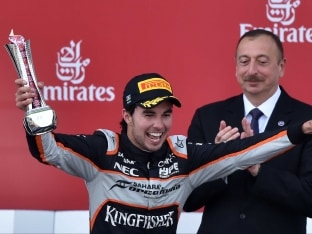 Europe GP: Sergio Perez Gets Another Podium for Force India in Baku