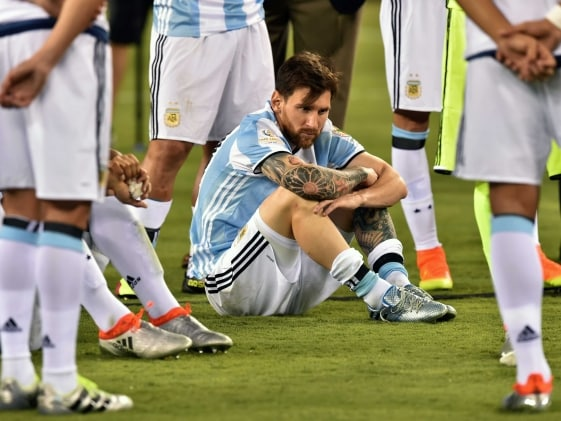Lionel Messi Retires After Argentina Lose Copa America Final To Chile