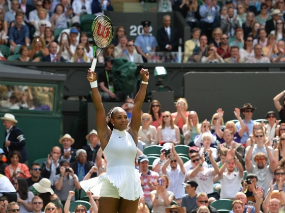 Serena Williams Storms Into Wimbledon Second Round With Straight Sets Win